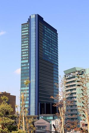 目黒天空庭園から見た住友不動産青葉台タワー