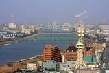 新潟県庁からの眺め