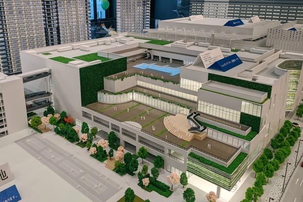 有明ガーデンの模型