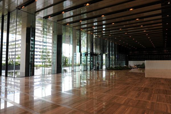 東京ポートシティ竹芝オフィスタワー オフィスロビー