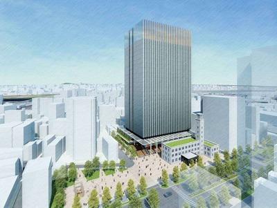 新本庁舎 完成予想図