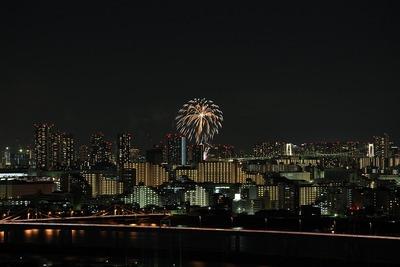 お台場レインボー花火2011