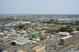 茨城県庁舎からの眺め