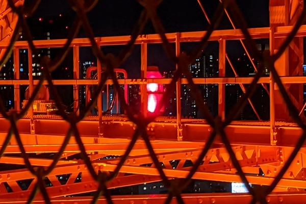 東京タワーの航空障害灯