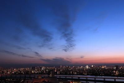 船堀駅前トキタワーからの夜景