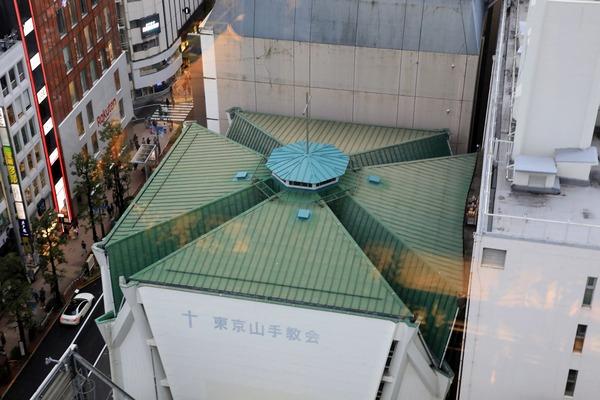 渋谷PARCOからの眺め