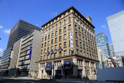 京橋二丁目西地区第一種市街地再開発事業と明治屋京橋ビル