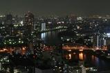 隅田川方面の夜景
