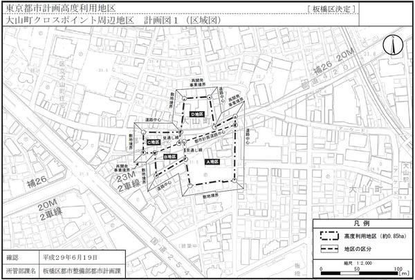 大山町クロスポイント周辺地区第一種市街地再開発事業