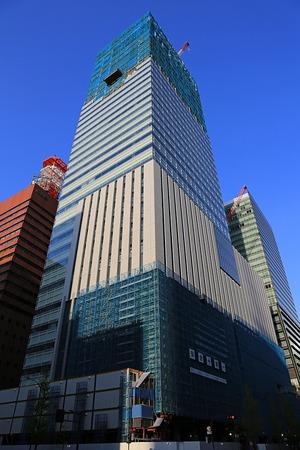 読売新聞東京本社ビル(2013年4月13日)