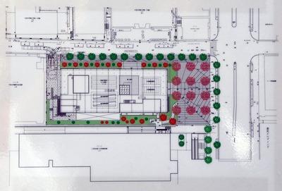 日本大学理工学部駿河台校舎キャンパス整備事業(南棟)配置図