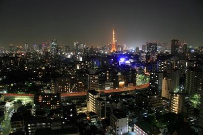 白金タワーからの夜景