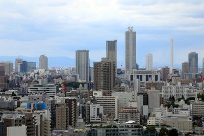 文京シビックセンターから池袋方面の眺め
