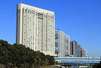 お台場の超高層ビル群