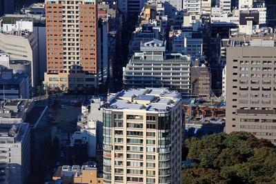 東京タワーから見た環二・�街区
