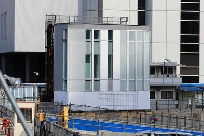 横浜市市庁舎移転新築工事 外装モックアップ
