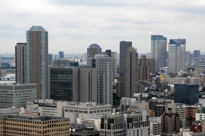 リガーレ日本橋人形町から見たリバーシティ21新川