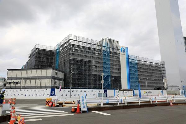 選手村マルチファンクションコンプレックス(商業棟)