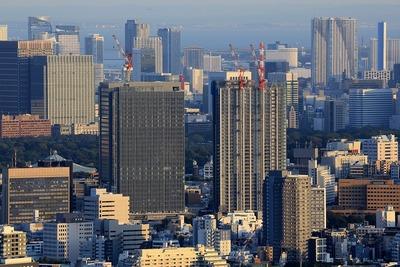サンシャイン60から見た飯田橋サクラパーク