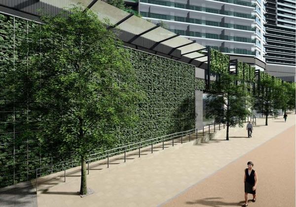 南池袋二丁目C地区第一種市街地再開発事業 沿道のイメージ