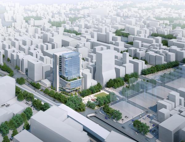 関東学院大学 横浜・関内キャンパス 完成予想図