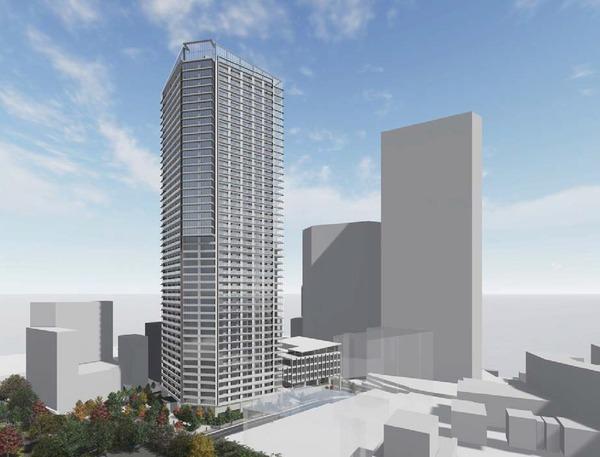 (仮称)赤坂七丁目2番地区再開発事業 イメージパース