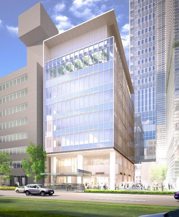 八重洲二丁目北地区第一種市街地再開発事業 外観イメージパース(A-2街区)