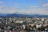 栃木県庁舎 本館からの眺め