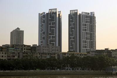 中国広州市のタワーマンション