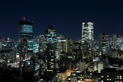 パークコート麻布十番ザ タワーから見た虎ノ門・六本木方面