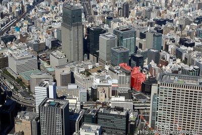 日本橋室町一丁目地区の空撮