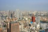 電通本社ビルからの眺め