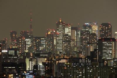 東京タワー 消灯