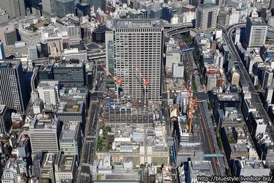 日本橋二丁目地区の空撮