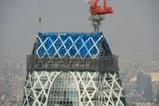 東京モード学園コクーンタワーの最上部