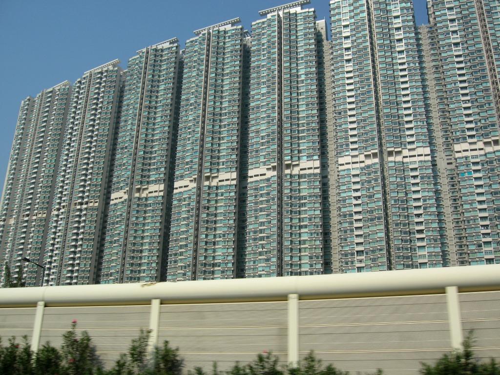香港の壁マンション 香港の壁マンション : 超高層マンション・超高層ビル 超高層マンション・超高
