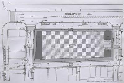 (仮称)神田練塀町地区第一種市街地再開発事業 配置図