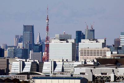東京ゲートブリッジからの眺め
