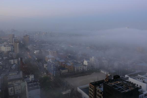 江戸川区の雲海