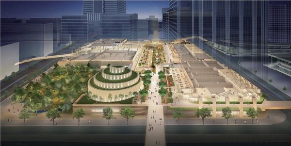 みなとみらい21中央地区52街区 完成予想図