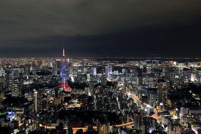 東京タワー『梅雨明けダイヤモンドヴェール』