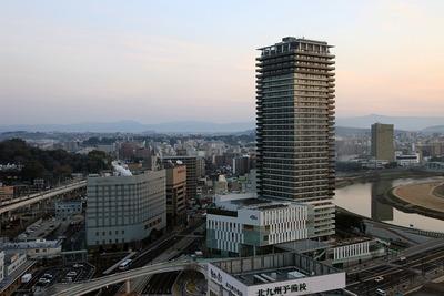 東横イン熊本駅前から見たザ・熊本タワー