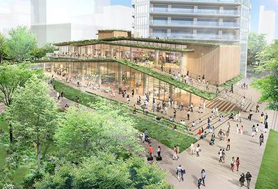 北青山三丁目地区まちづくりプロジェクト 完成予想図