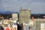 宇都宮市役所から見た栃木県庁