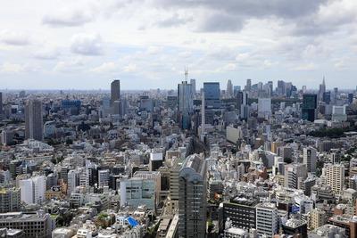 恵比寿から見る渋谷
