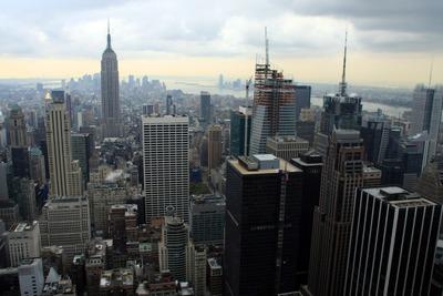 ロックフェラーセンターから見たニューヨーク