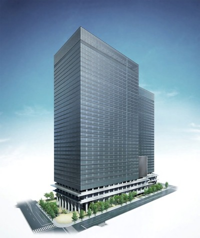 大手町二丁目地区第一種市街地再開発事業 完成予想図