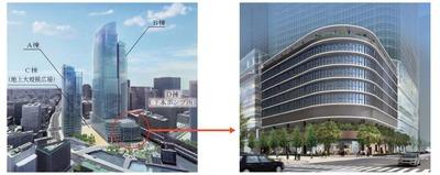 常盤橋街区再開発プロジェクト 完成予想図