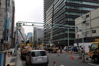 京橋駅前のNシステム
