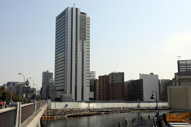 高さ155.4m「横浜市庁舎」建築計画のお知らせ設置(2017.3.20 ...